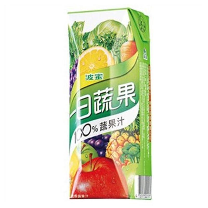 波蜜一日蔬果100蔬果汁 250ml
