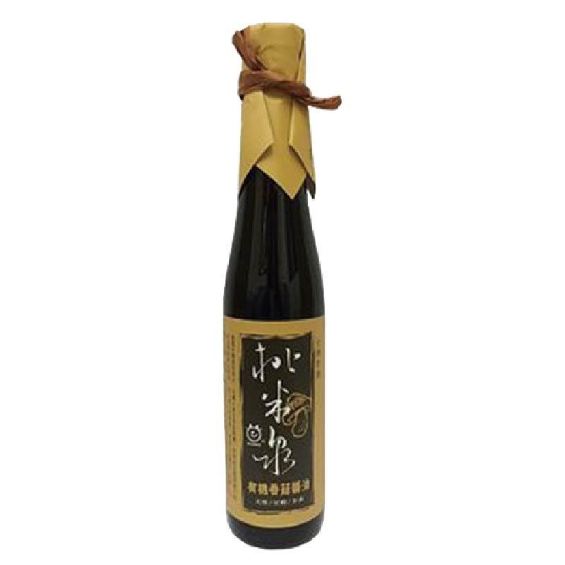 桃米泉有機香菇醬油410ml