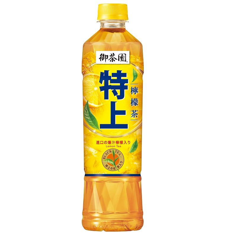御茶園特上檸檬茶PET550ml