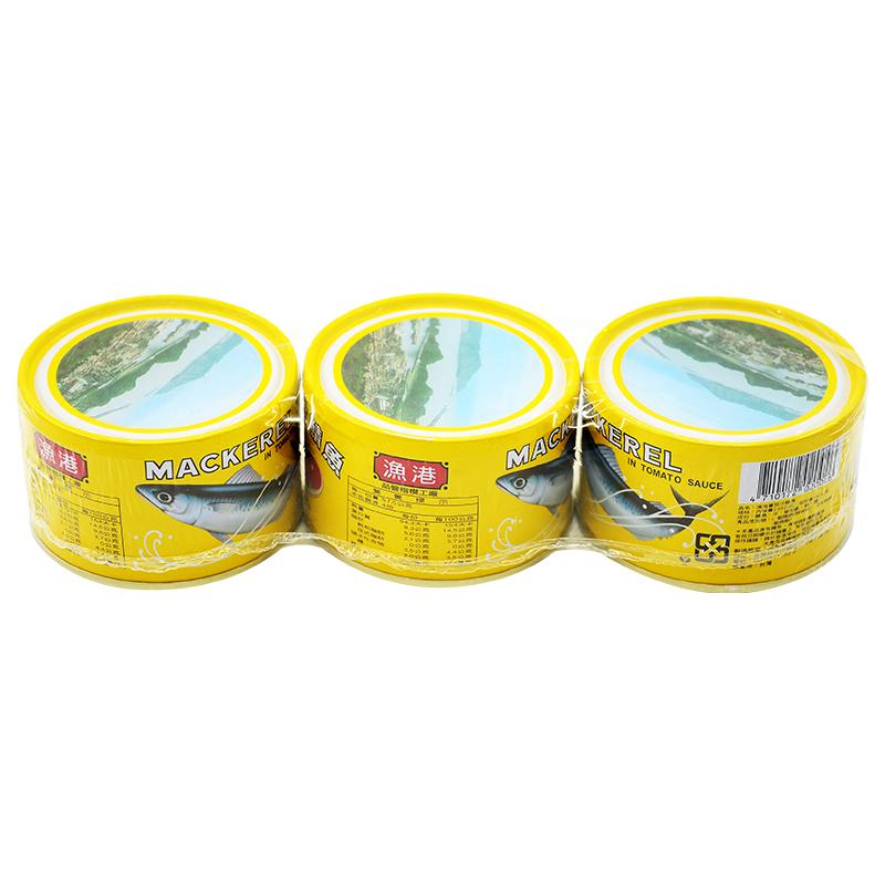 同榮漁港蕃茄汁鯖魚黃罐230g