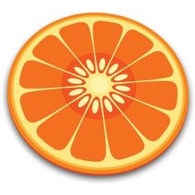【26%OFF】マルチガラスボード オレンジ オレンジ