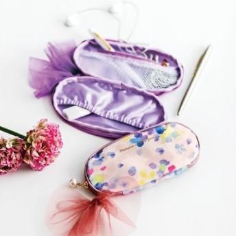バッグの中の小さな宝石 オーバル形の手のりポーチの会 フェリシモ FELISSIMO【送料:450円+税】