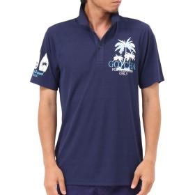 [ガッチャ ゴルフ] GOTCHA GOLF ポロシャツ ドライ リゾート サーフ 刺繍 シャツ 192GG1219 ネイビー M