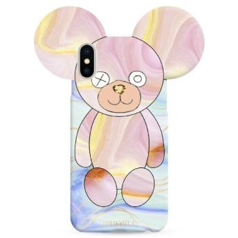 Teddy Pastel for iPhone X/XS テディパステル 16219