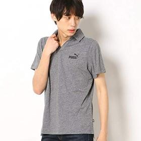 プーマ(PUMA) 【プーマ/PUMA】メンズカジュアルポロシャツ(ESS+ オープンポロシャツ)【03グレー/M】