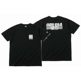 NEW ERA ニューエラ コットン Tシャツ ニューエラ ドリップ ブラック 半袖 ウェア メンズ レディース Small 12108189 NEWERA