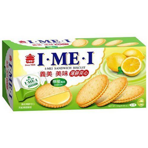 義美美味薄餅夾心-檸檬