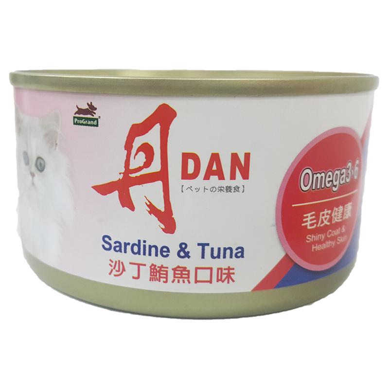 丹 沙丁鮪魚貓罐-185g
