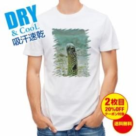 Tシャツ チンアナゴ 釣り 魚 ルアー 送料無料 メンズ ロゴ 文字 春 夏 秋 インナー 大きいサイズ 洗濯
