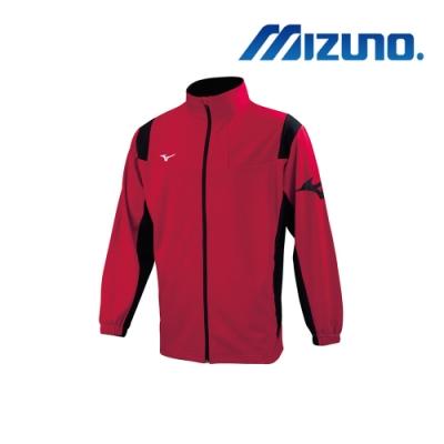 Mizuno 美津濃 男針織運動外套 紅X黑 32TC903362