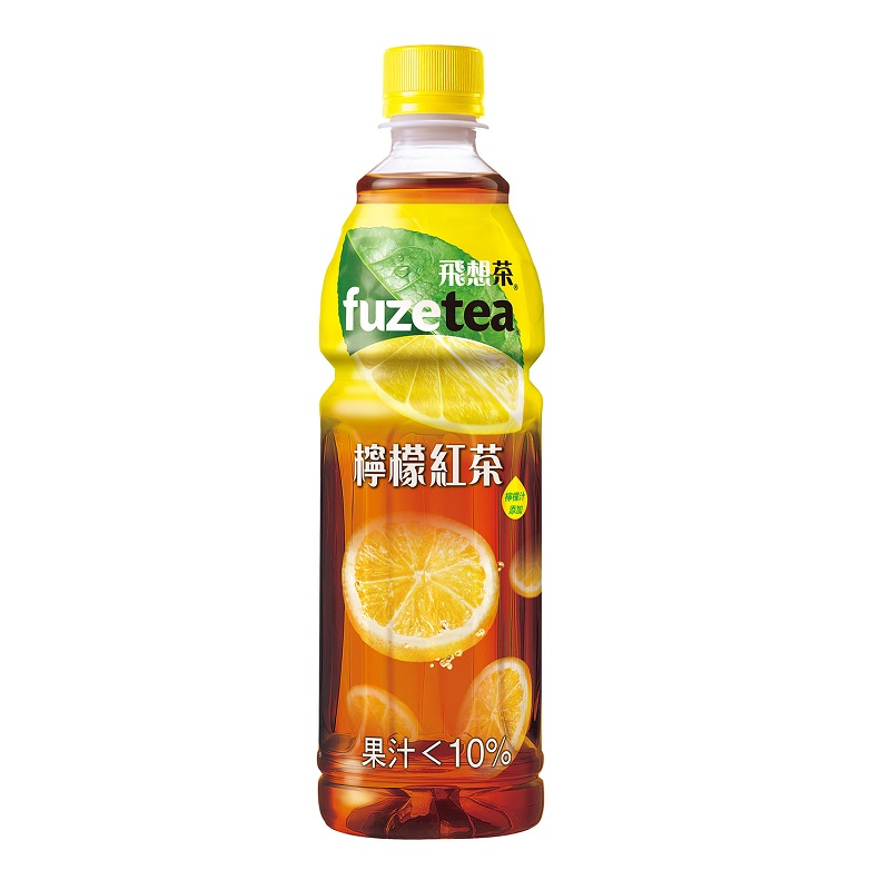 飛想茶檸檬紅茶580ml
