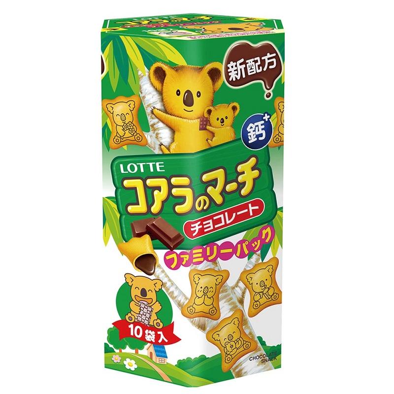 樂天小熊餅-巧克力風味(家庭號)