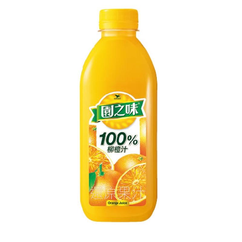 園之味100柳橙汁到貨效期約6-8天