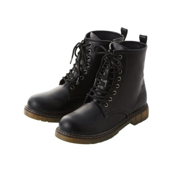 編上げショートブーツ(低反発中敷)(ワイズ4E) ブーツ・ブーティ, Boots, 短靴