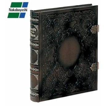 ナカバヤシ ブック式フリーアルバム バッキンガム ブラウン アH-GL-1501-BR 大切な想い出を古きよきヨーロッパのロマンと共に