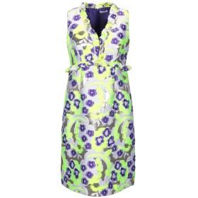 《セール開催中》P.A.R.O.S.H. レディース ミニワンピース&ドレス ビタミングリーン S 83% ポリエステル 11% ナイロン 6% 指定外繊維