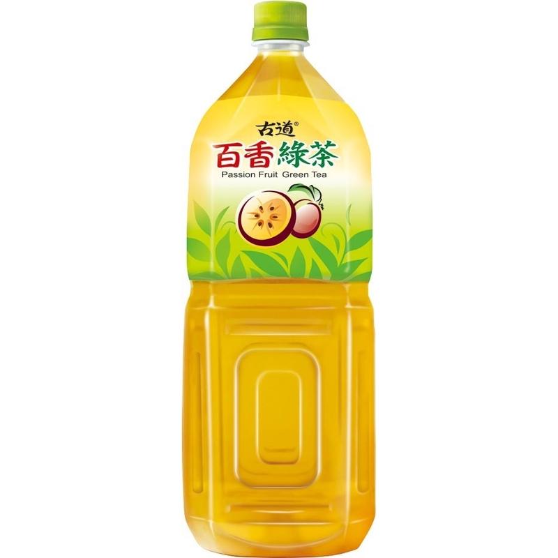 古道百香綠茶 Pet 2000ml