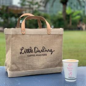 【アポリス(APOLIS)】 ◆◆APOLIS + Little Darling Coffee Roasters ランチバッグ ベージュ