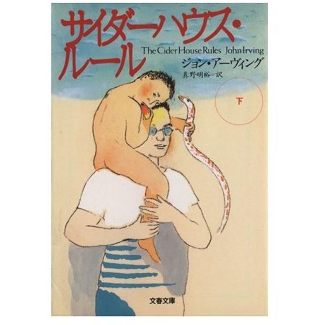 サイダーハウス・ルール(下) 文春文庫/ジョン・アーヴィング(著者),真野明裕(訳者)