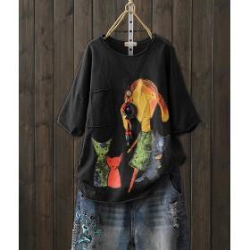 Vigor Girls Tシャツ 半袖 コットン レディース
