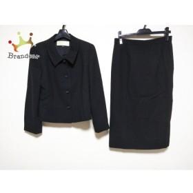 ニナリッチ NINARICCI スカートスーツ サイズ13 L レディース 黒  値下げ 20191007