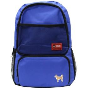 [ビップライン]VIP LINE デイパック リュックサック バックパック メンズ レディース 柴犬 ハシビロコウ VL-1098 (ブルー/柴犬(きつね色))