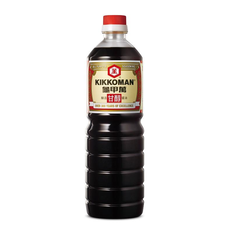 龜甲萬甘醇醬油-1000ml