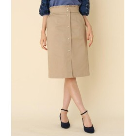 (Couture Brooch/クチュールブローチ)パール調タイトスカート/レディース ベージュ(052) 送料無料
