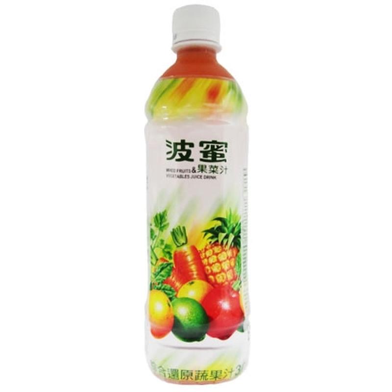 波蜜果菜汁 Pet 580ml短效期,最長期限至2021-05-14
