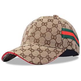 帽子 キャップ レディース メンズ ユニセックス 男女兼用 おしゃれ 野球帽 スポーツ ランニング 日除け サイズ調整可能 (ブラウン)