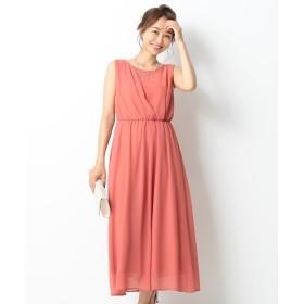 【オンワード】 any SiS(エニィスィス) アシメタックミディー ドレス コーラルピンク 1 レディース 【送料無料】