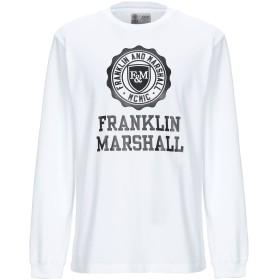 《期間限定セール開催中!》FRANKLIN & MARSHALL メンズ T シャツ ホワイト XXS コットン 100%