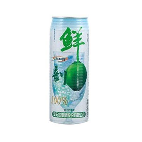 鮮剖100%椰子汁含椰肉-520ml