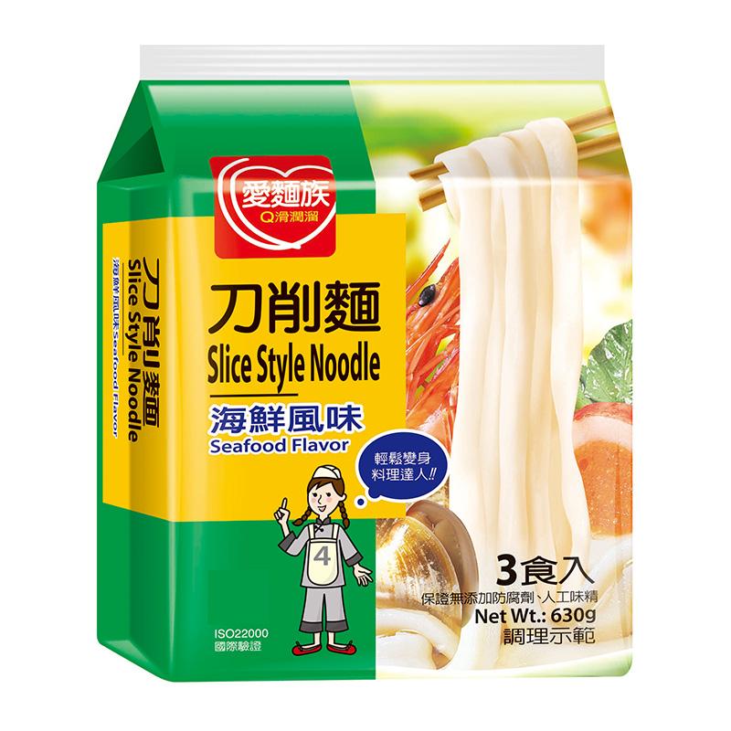 愛麵族刀削麵-海鮮風味