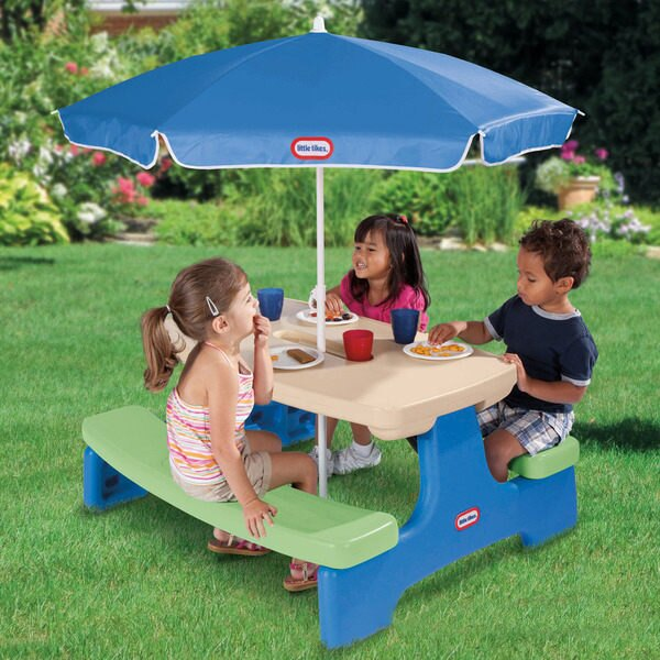 【Little Tikes 小泰可】可愛家具 - 便利野餐桌