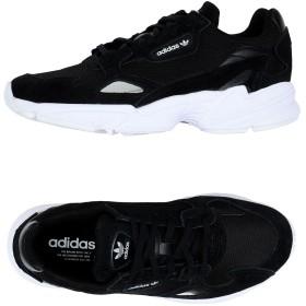 《セール開催中》ADIDAS ORIGINALS レディース スニーカー&テニスシューズ(ローカット) ブラック 3.5 革 / 紡績繊維 FALCON