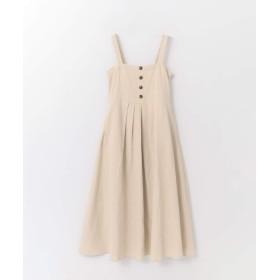 [サニーレーベル] ワンピース ドレス フロントボタンサマードレス レディース ベージュ FREE
