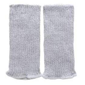 【メール便(15)】 (エムアンドエム)M&M シルク混 ショートウォーマー 冷え取り 日本製 吸湿 放湿