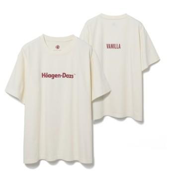アダム エ ロペ ファム/Haagen-Dazs meets ADAM ET ROPE'〈T-shirt〉/キナリ/M