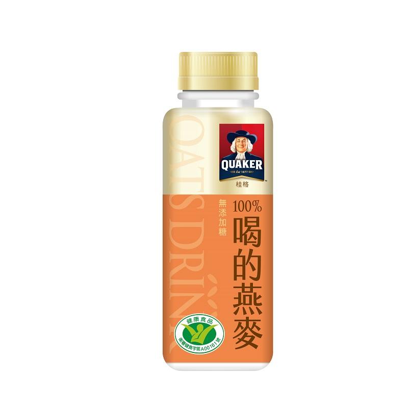 桂格100%喝的燕麥-無糖290ml