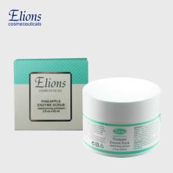 【Elions】去角質-鳳梨酵素溫和角質膠(贈洗臉海綿+美容挖杓)