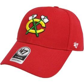 47 Brand アジャスタブル キャップ - MVP シカゴ・ブラックホークス (Chicago Blackhawks) 赤