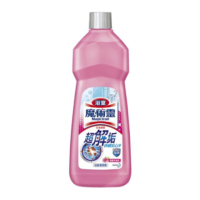 魔術靈 浴室清潔劑經濟瓶-玫瑰香-500mlx2