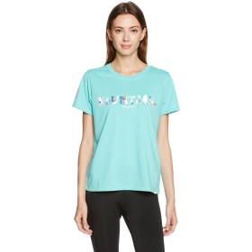 (ミズノ)MIZUNO アウトドア ハレニモリ半袖プリントTシャツ [ユニセックス] A2JA7247 24 ターコイズ S