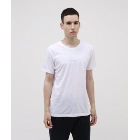 (LOVELESS/ラブレス)ポリクレスト ロゴ クルーネックTシャツ/メンズ ホワイト2 送料無料