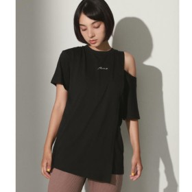 [マルイ]【セール】刺繍ロゴスリットショルダーTシャツ/アナップ(ANAP)