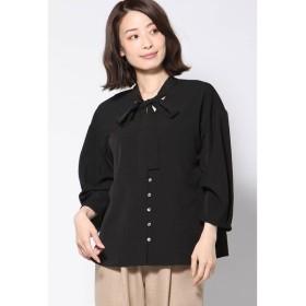Ketty Cherie / 【WEB別注】ジョーゼットリボン付きシャツ