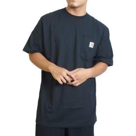 (カーハート) Carhartt Tシャツ ポケットTシャツ WORKWEAR POCKET TEE [K87] 2XL BLACK [並行輸入品]