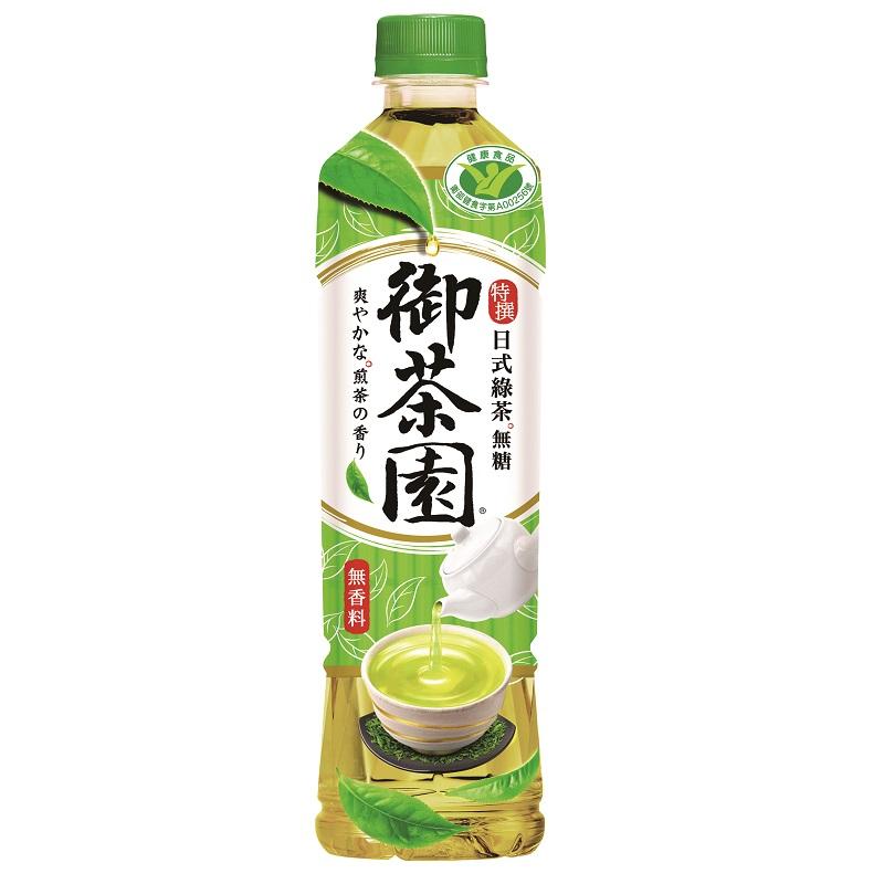 御茶園特撰日式綠茶550ml短效期,最長期限至2021-08-19