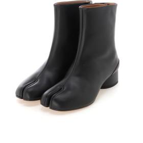 Maison Margiela Light brushed effect Tabi boots ミドルブーツ,ブラック